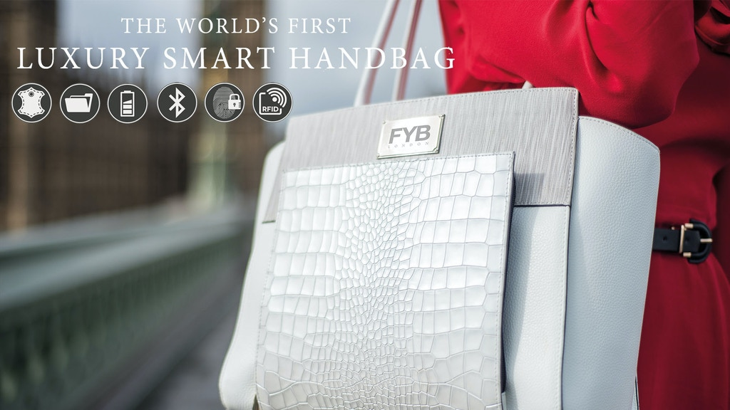 FYB® London | The Worlds SMARTEST Handbag project video thumbnail