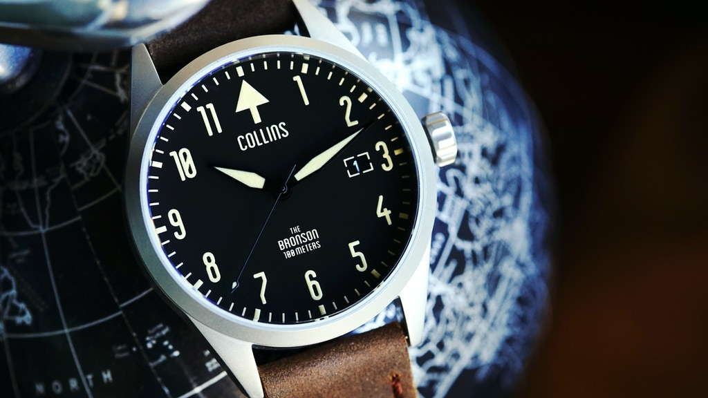 Redefining A Classic Style: The Collins Mechanical Watch project video thumbnail