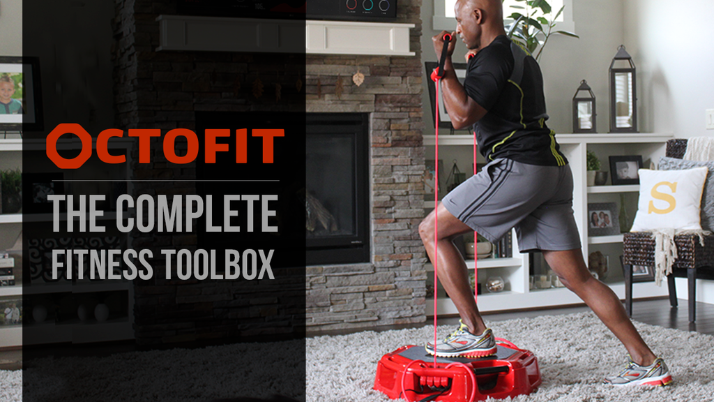 OctoFit - The Ultimate Home Fitness Device & Workout Library project video thumbnail