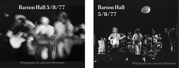 Alternate covers.  Photo D on left and Photo E on right.