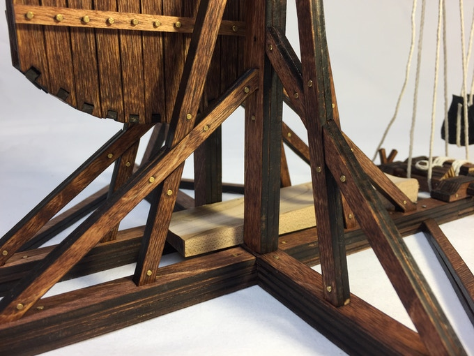 Trebbers Is A Highly Detailed Trebuchet Kit