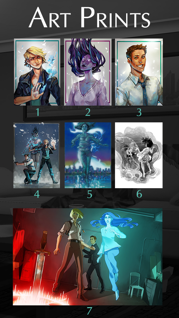 We have an amazing array of pieces from several talented artists (credits below!)