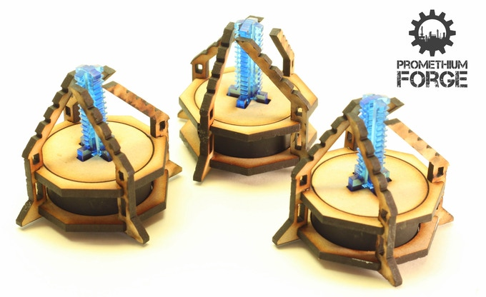 Three objective markers.