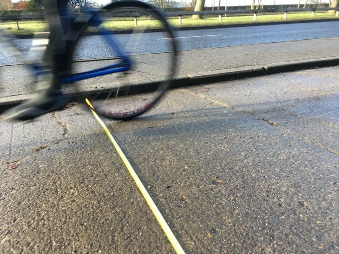 Many of the 1930s cycleways were 9-ft wide, kerb-protected and surfaced with concrete.