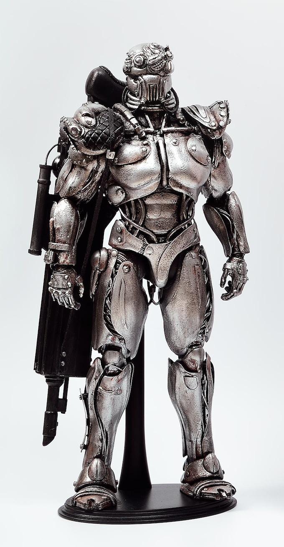 """13"""" Robot Sculpture Hand-Built by (1019)"""