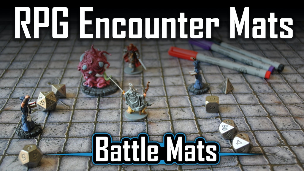 BattleMats: RPG Encounter Mats for Table Top Roleplaying project video thumbnail