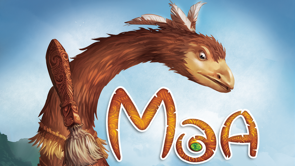 Moa, a Martin Wallace Board Game of Birds & Mammals for 3-5 project video thumbnail