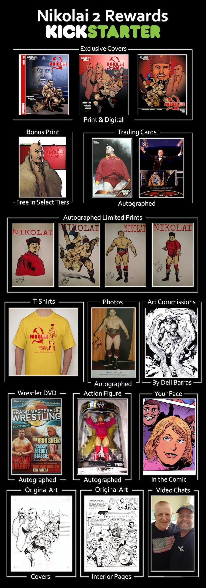 See Below for Details & Larger Images of Premium Rewards