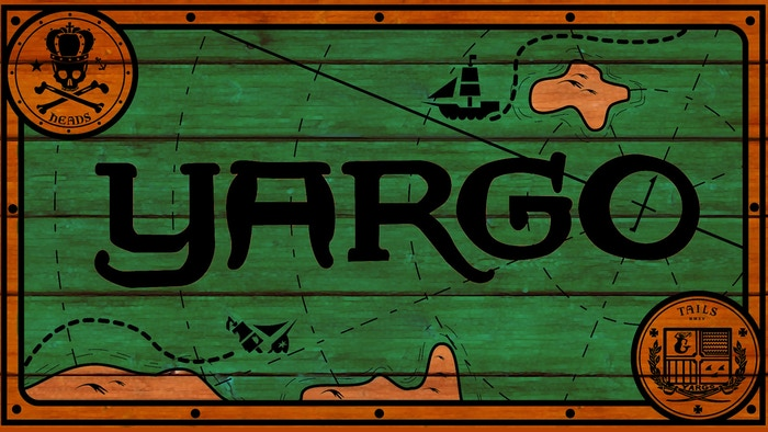 Yargo is a pirate strategy game for two players, designed with deluxe wooden game sets in mind. 1st ed. completed fulfillment in 2016.