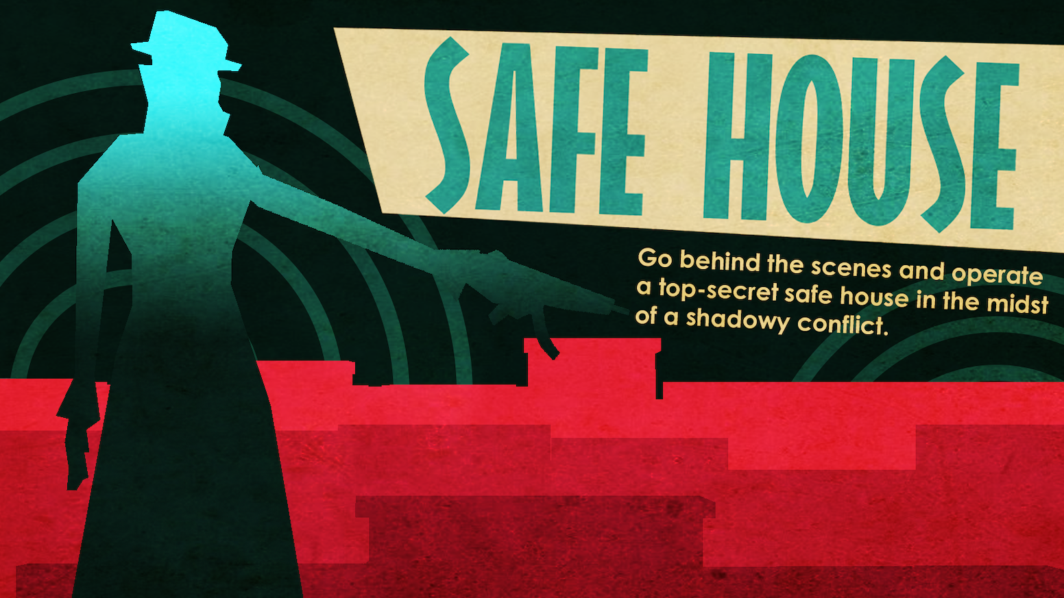 Safe House: Operate your own Top-Secret Spy HQ by LABS Games