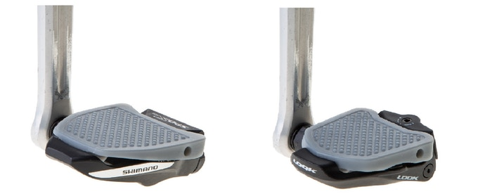 Pedal Plate for both SPD-SL and Look Keo compatible pedals