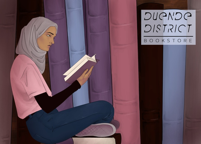 Duende District Postcard