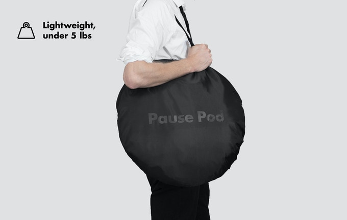Pause Pod carrying bag.