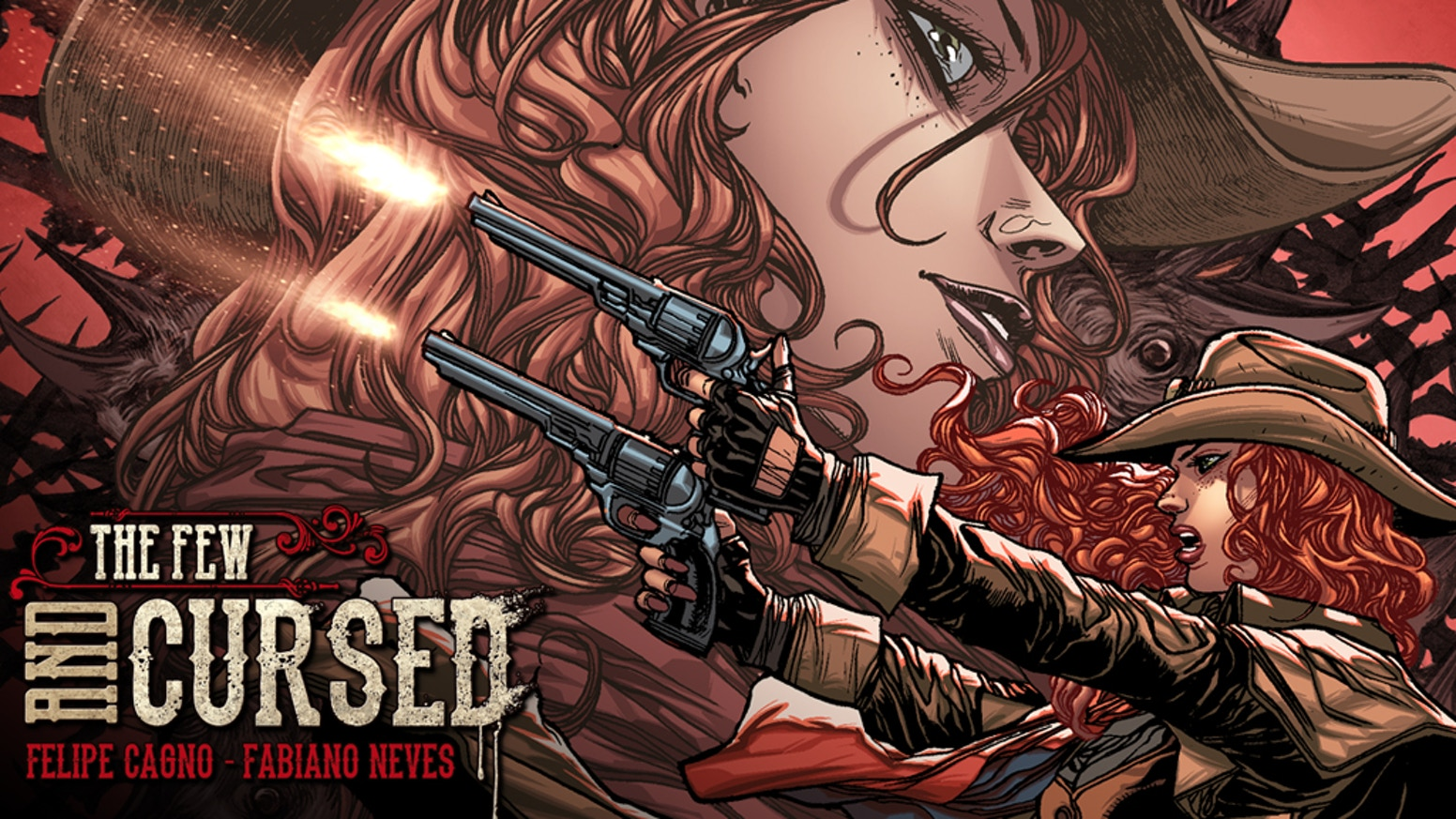 Join the Redhead in her hunt for The Crows of Mana'Olana in this epic supernatural western. Issues #1 and #2 also available!