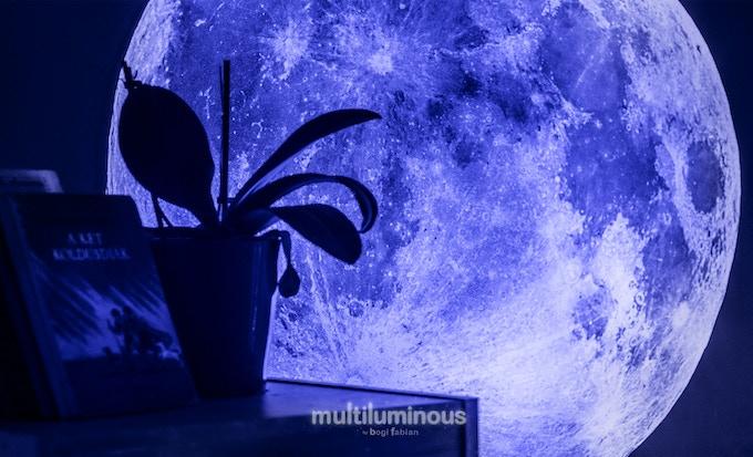 Rewards Mini Moon Print 25 Day Light Glow In The Dark Design Onesize 30 Cm 11 8 Inch Diameter