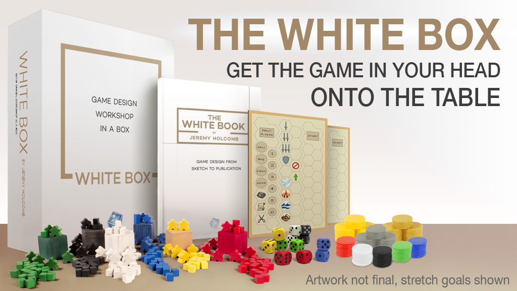 The White Box: A Game Design Workshop-in-a-Box project video thumbnail