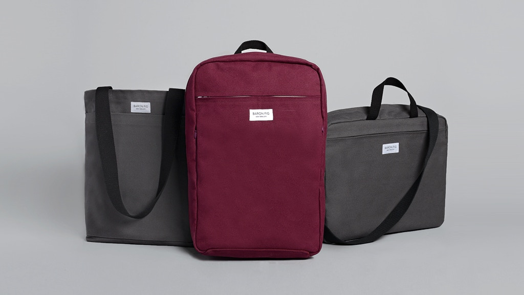 Baron Fig: Minimal Backpack, Messenger, and Tote project video thumbnail