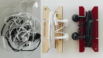 NiO - wooden earphones organizer made in Germany