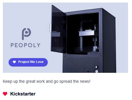 Moai - Affordable High-Resolution Laser SLA 3D printer by Peopoly