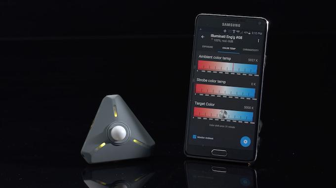 Illuminati Wireless Light Amp Color Meter For Photo Amp Video
