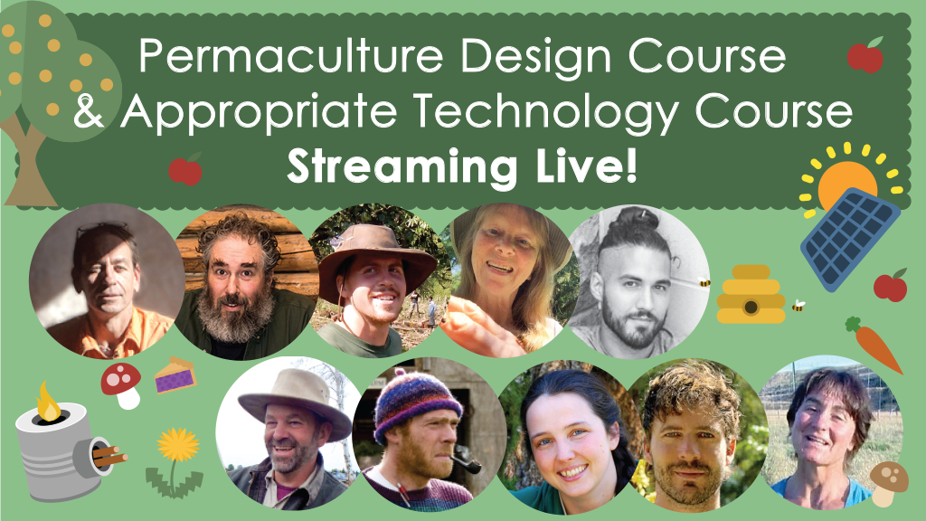 Live Stream Permaculture Design Course & App. Tech Course project video thumbnail