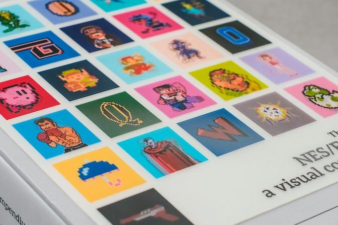 Lenticular slipcase on NES/Famicom: a visual compendium