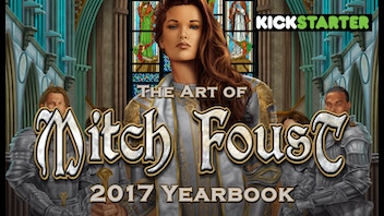 The Art of Mitch Foust 2017 Yearbook