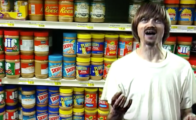 Click here to see Paul's smash hit Peanut Butter Recall.