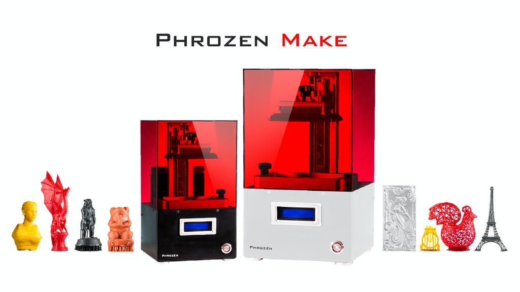 Phrozen Make | Professional LCD 3D Printing Made Accessible project video thumbnail
