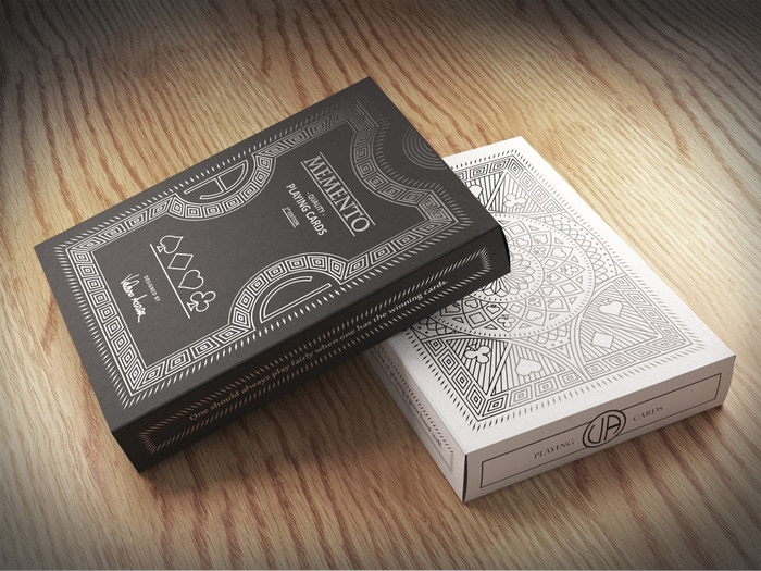 A historically inspired deck of playing cards designed by Valerio Aversa and printed by The Legends Playing Card Company