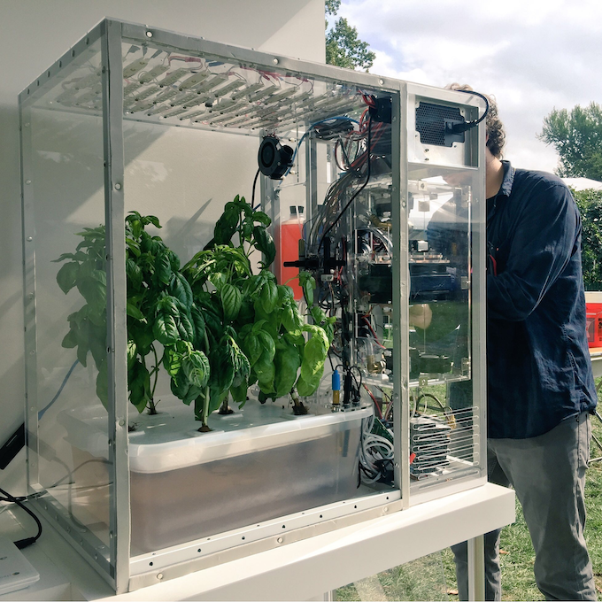 The Personal Food Computer™ v2.0 (Credit: Open Agriculture Initiative, MIT Media Lab)