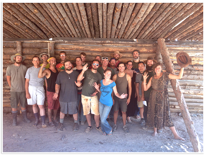 2015 Permaculture Design Course class