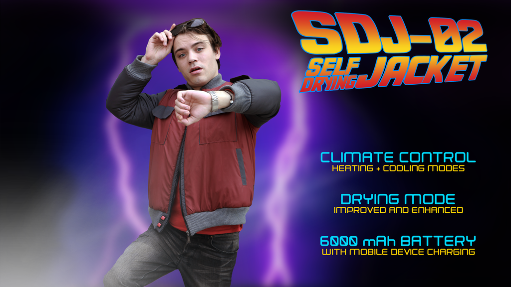 SDJ-02: Self Drying Jacket w/ Climate Control + USB Charging project video thumbnail