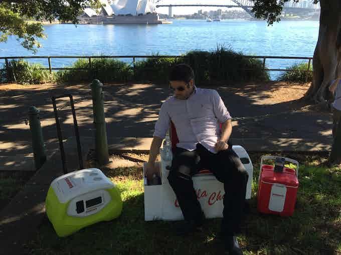 Chillin in Sydney