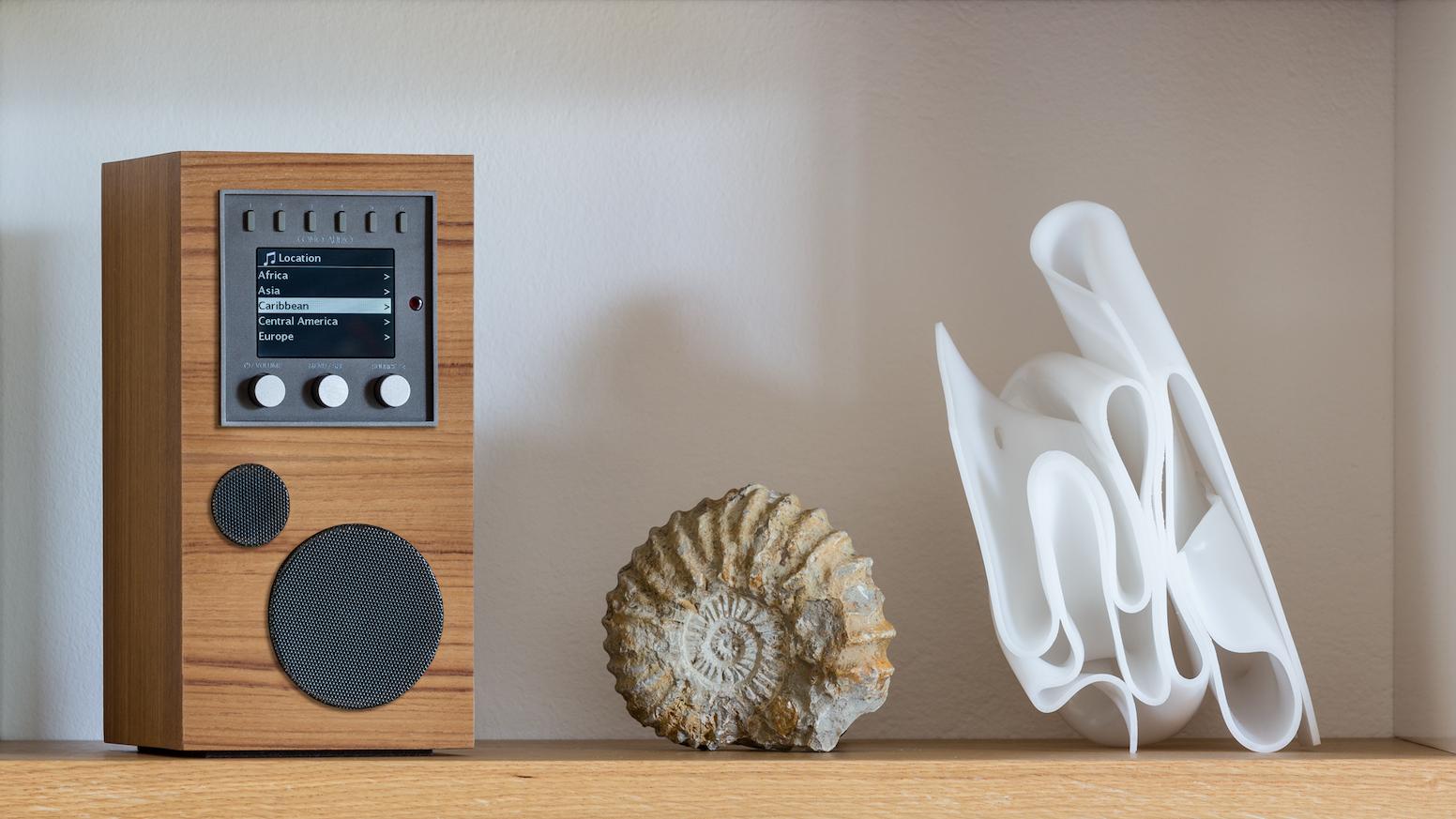 Como Audio Amico: Portable, Multi-Room Smart Speaker System