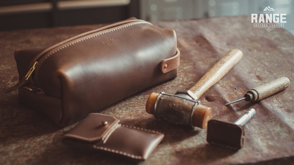 Travellr XL | Leather Toiletry Bag & Travel Gear project video thumbnail