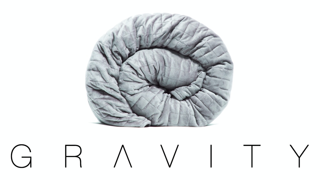 Gravity: The Weighted Blanket for Sleep, Stress and Anxiety miniatura de video del proyecto