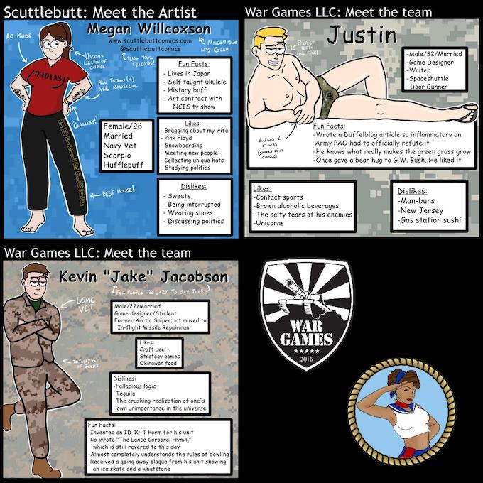 The Scuttlebutt and War Games Crew