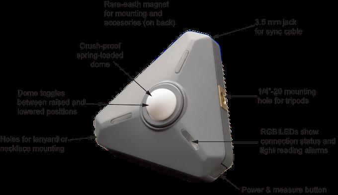 Illuminati Wireless Light & Color Meter for Photo & Video by Michael