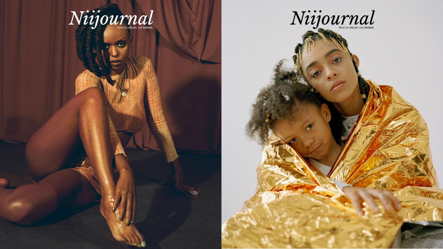 A printed publication exploring the issues of empowerment and representation within race.