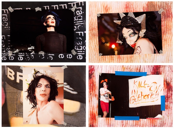 Examples of some of the A3 photo-collage print choices