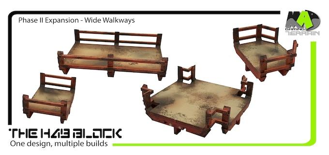 Extra Wide Walkways