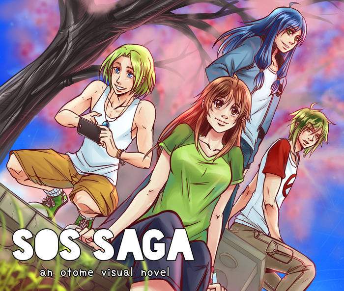 SOS SAGA (scions of the seraph) is a paranormal, self discovery visual novel geared toward a female audience. Play as the Seraph who is trying to figure out her new life.