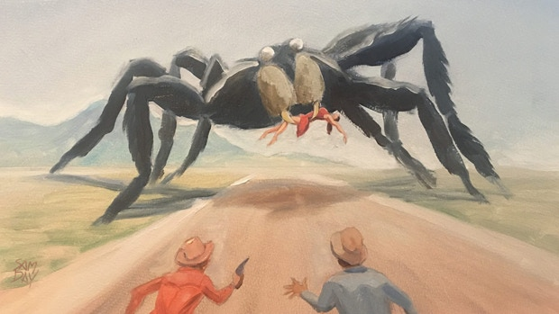 "Sam Day's take on ""Tarantula"""