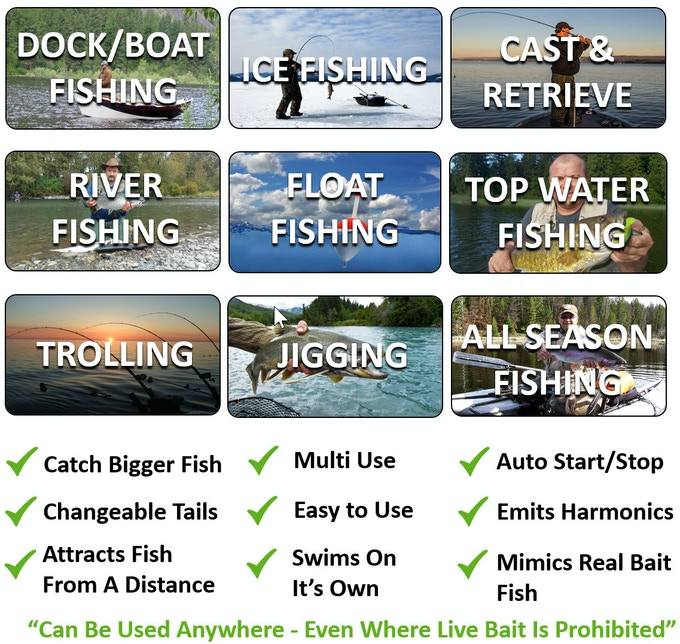 Benefits of fishing with eMinnow