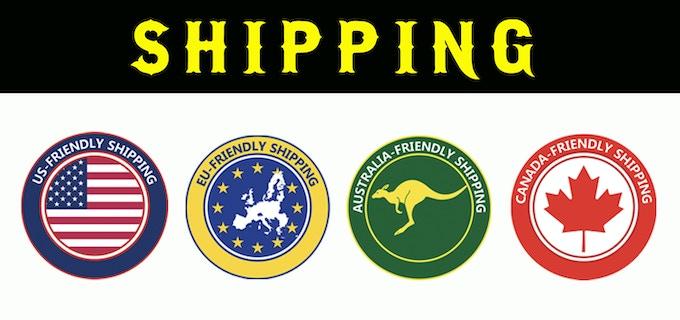 REGION FRIENDLY SHIPPING