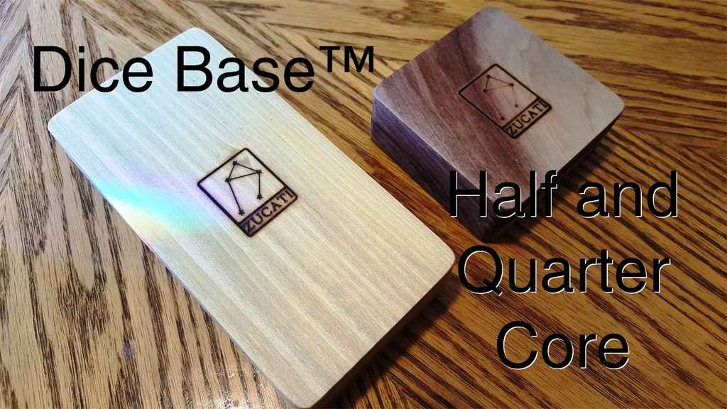 Dice Base™: Quarter and Half Core Dice Vaults and Mini Cases project video thumbnail