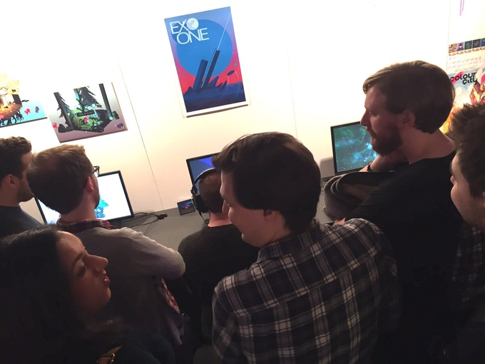EXO ONE at EGX Rezzed: Leftfield Collection in London