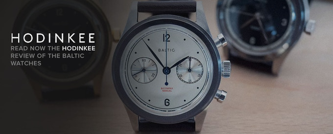 Check our watches on HODINKEE