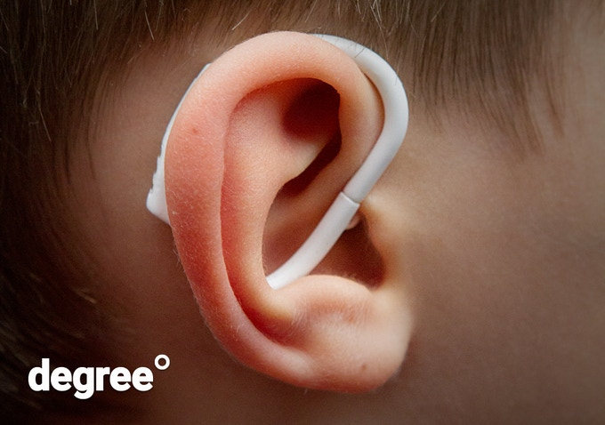 World´s first wearable in-ear thermometer for children